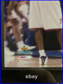 100% Authentic Michael Jordan Last Final Game Ticket Stub Framed