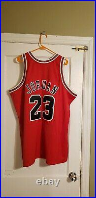 100% Authentic Michael Jordan Mitchell & Ness 97/98 Bulls Finals Jersey 52 XXL