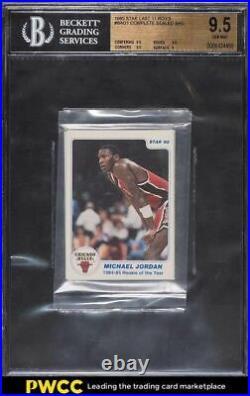 1985 Star Basketball Last 11 ROY'S Michael Jordan ROOKIE RC BGS 9.5 GEM MINT