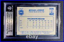 1985 Star Michael Jordan Chicago Bulls Last 11 Roy's #1 Bgs 8.5 Nm-mint+
