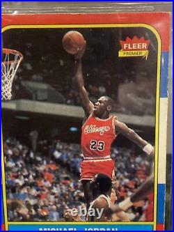 1986 Fleer #57 Michael Jordan RC Rookie BGS 3.5 Last Dance Holy Grail
