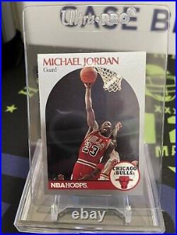 1990 1991 90-91 Fleer Hoops Michael Jordan Chicago Bulls #65 The Last Dance EX
