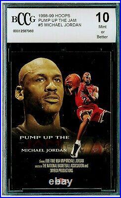 1992/93 Skybox Mvp Michael Jordan Nba Finals Bgs 9.5 Gem-mint