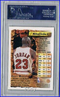 1993 93 Topps Finest Michael Jordan PSA 10 Low Pop The Last Dance GOAT Bulls