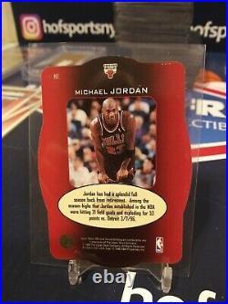 1996 Upper Deck Spx Michael Jordan Holoview Heroes #h1 Sp The Last Dance (b)