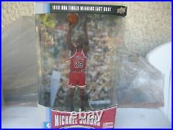 1998 NBA Finals Michael Jordan winning last shot Figure Pro Shots upper deck