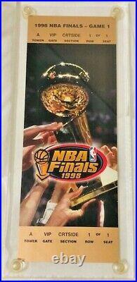 1998 Nba Finals Game 1 Vip Ticket In Case Michael Jordan The Last Dance