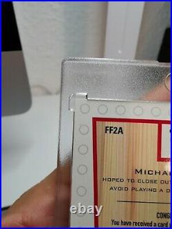 1999/00 UD Michael Jordan Final Floor Autograph 7/23! Super rare MJ 90s Auto