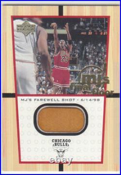 1999-00 Upper Deck MICHAEL JORDAN MJ's FINAL FLOOR FF12 (NOT JUMBO) RARE BULLS