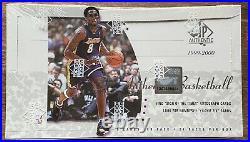 1999-2000 SP AUTHENTIC Basketball Factory-Sealed BOX! UD/Jordan Final Floor/Kobe