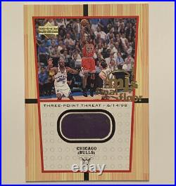 2000 Ud Michael Jordan Mj's Final Floor #ff4 Game Floor From His Final Shot