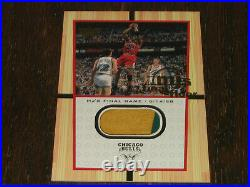 2000 Upper Deck Century Legends MJ Final Floor Michael Jordan Jumbo Game Used #1