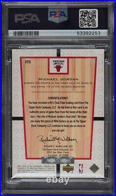 2002 Ultimate Collection Buyback'99 Final Michael Jordan PSA/DNA AUTO /16 PSA 9
