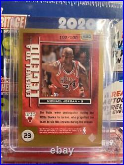2003 VICTORY Michael Jordan GOLD PARALLEL # 100/100 Last One #230 Rare SSP