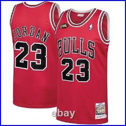 Authentic Jordan Mitchell & Ness 1997-98 Chicago Bulls Jersey last dance finals