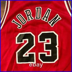 Champion NBA Chicago Bulls Jordan Jersey Sz 48 Rare Edition The Last Dance Era