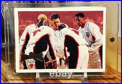 Chicago Bulls 1996-97 Topps Super Team Michael Jordan Pippen Rodman Last Dance