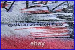 Chicago Bulls NBA Jordan Shirt 1991 Finals Champions vs Lakers Vintage Tshirt L