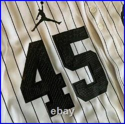 Customizable Michael Jordan Chicago White Sox Last Dance MLB Baseball Jersey NCA
