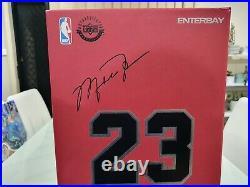 ENTERBAY 1/6 Michael Jordan 23 Chicago Bulls MJ The Last Shot Series 2 NBA RARE