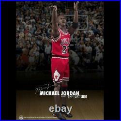 ENTERBAY 1/6 Michael Jordan 23 Chicago Bulls The Last Shot Ser 2 NBA Figure RARE