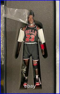 Enterbay 1/6 MICHAEL JORDAN 23 LAST SHOT Black NBA Limited Edition Chicago Bulls