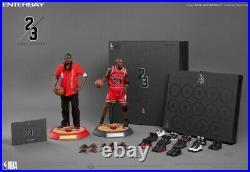 Enterbay Michael Jordan (Away) 1/6 Scale Final Limited Edition Figure