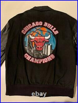 Jeff Hamilton CHICAGO BULLS 1997 NBA FINALS CHAMPIONSHIP VINTAGE JACKET NEW