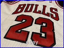 LAST DANCE! Michael Jordan Authentic Jersey Nike Chicago Bulls NBA finals Patch
