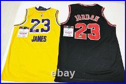 Lakers, Bulls GOAT Autographed Rare 2 Jerseys Collection COA LAST SALE