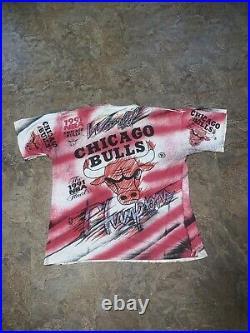 Magic Johnson T's Jordan Shirt Jumpman Retro Vtg Bulls NBA L 1991 Finals Lakers