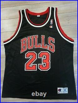 Michael Jordan 1993 NBA Finals Chicago Bulls Champion Jersey 48