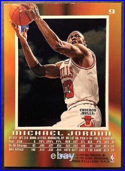 Michael Jordan 1996-97 Skybox EX 2000 #9 Chicago Bulls HOF Last Dance