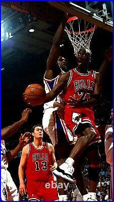 Michael Jordan 1997-98 Chicago Bulls NBA Finals Nike Authentic Jersey Size 40