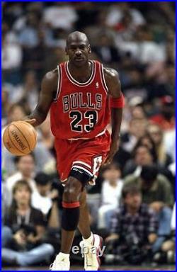 Michael Jordan 1997-98 Chicago Bulls NBA Finals Nike Authentic Jersey Size 44