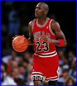 Michael Jordan 1997-98 Chicago Bulls NBA Finals Nike Authentic Jersey Size 48