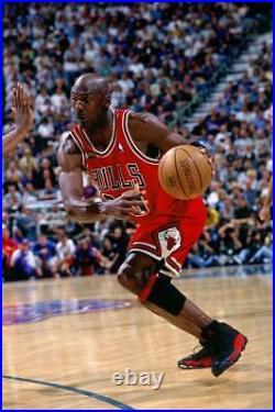 Michael Jordan 1997-98 Chicago Bulls NBA Finals Nike Authentic Jersey Size 52