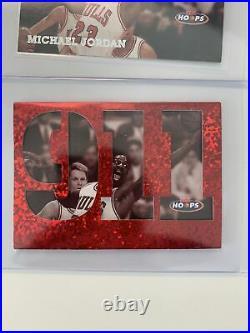 Michael Jordan 1997-98 NBA Hoops 911 Insert Card MVP RARE LAST DANCE BULL NBA