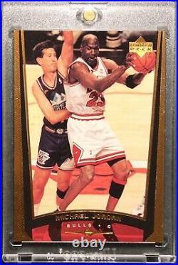 Michael Jordan 1998-99 Upper Deck Bronze /100 #230b Chicago Bulls Last Dance