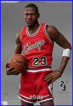 Michael Jordan 1/6 Real Masterpiece Enterbay Figures Final Le Away Version Uda