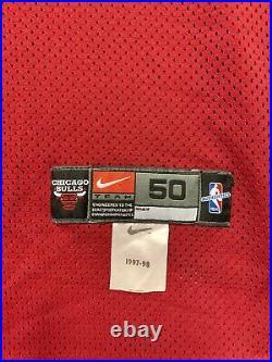 Michael Jordan #23 Chicago Bulls 1998 NBA Finals Authentic Home Jersey Size 50