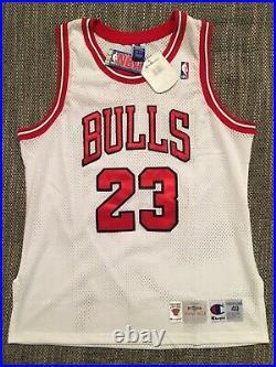 Michael Jordan Authentic Champion Home Jersey 48 BNWT last dance
