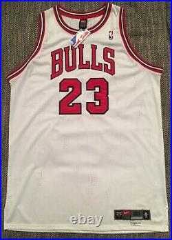 Michael Jordan Authentic Nike Home Jersey 50+4 BNWT pro cut last dance