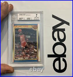 Michael Jordan BGS 7 1988 Fleer All Star LAST DANCE 9 Sub-Grade DUNK INVESTMENT