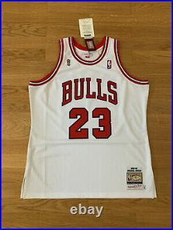 Michael Jordan BNWT 1996 Finals Authentic Mitchell & Ness Jersey Lebron Kobe NBA