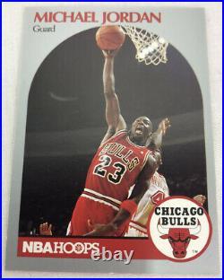 Michael Jordan Basketball Card NBA Hoops 1990 Bulls The Last Dance MJ Rare NEW
