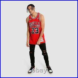 Michael Jordan Chicago Bulls 1997-98 Finals HWC Throwback NBA Authentic Jersey