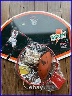 Michael Jordan Gatorade Basketball Hoop Bulls Dream Team The Last Dance- New