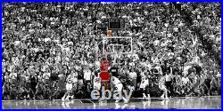 Michael Jordan Last Shot Canvas Printing Wall Art Home Decor