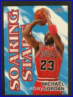Michael Jordan Lot Skybox Larger Than Life #l1 Fleer Total D #5 Ud Final Floor